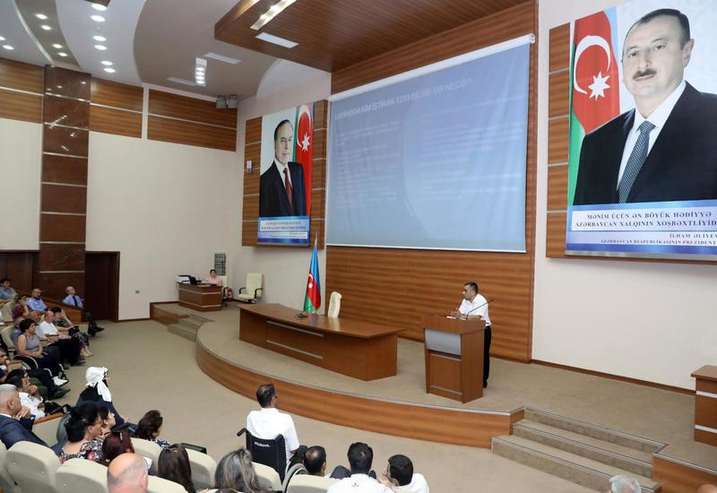Азербайджан поможет людям с ограниченными возможностями начать собственное дело
