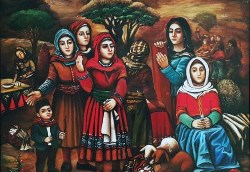 Азербайджанские келагаи: с древних времен до наших дней