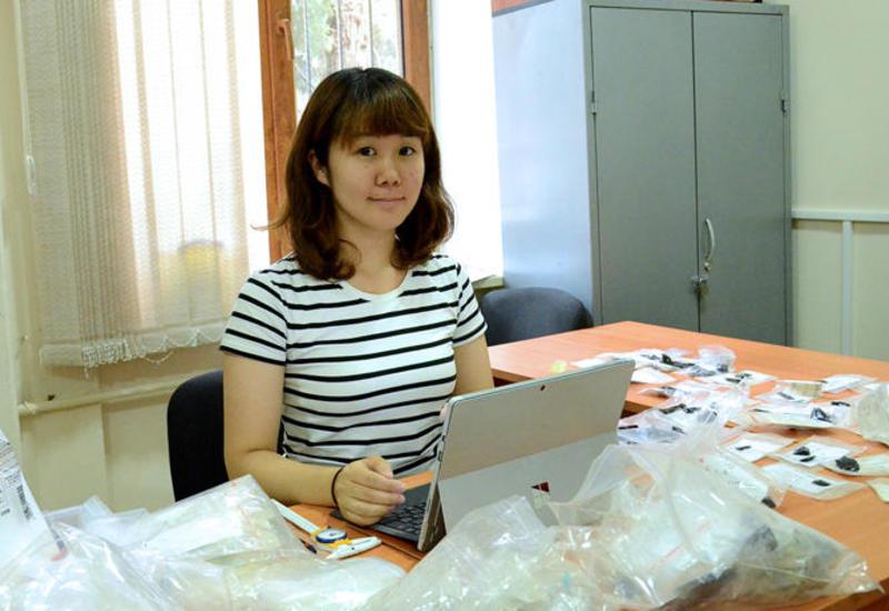 Японская исследовательница проанализировала артефакты из Азербайджана
