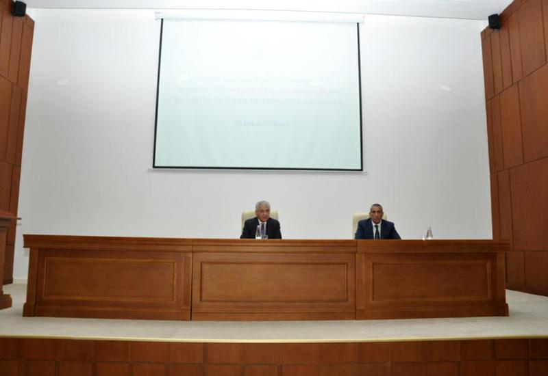"""В партии """"Ени Азербайджан"""" прошло совещание"""