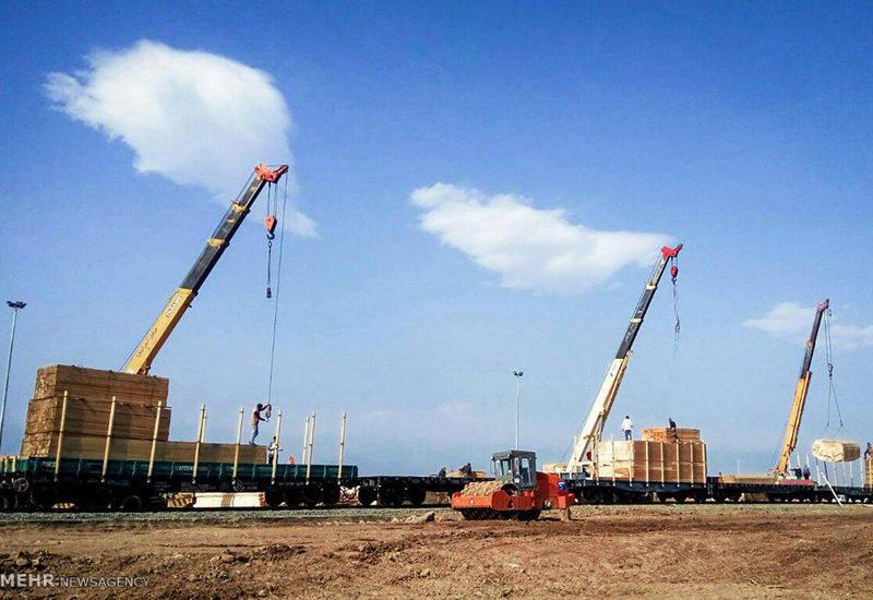 Замминистра о ремонтных работах на железнодорожном терминале Астара-Астара
