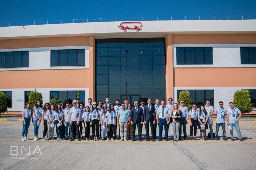 Волонтеры побывали в ООО Bakubus
