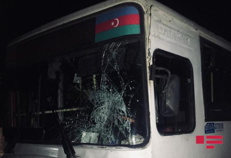 Страшное ДТП с участием автобуса в Баку, есть погибший