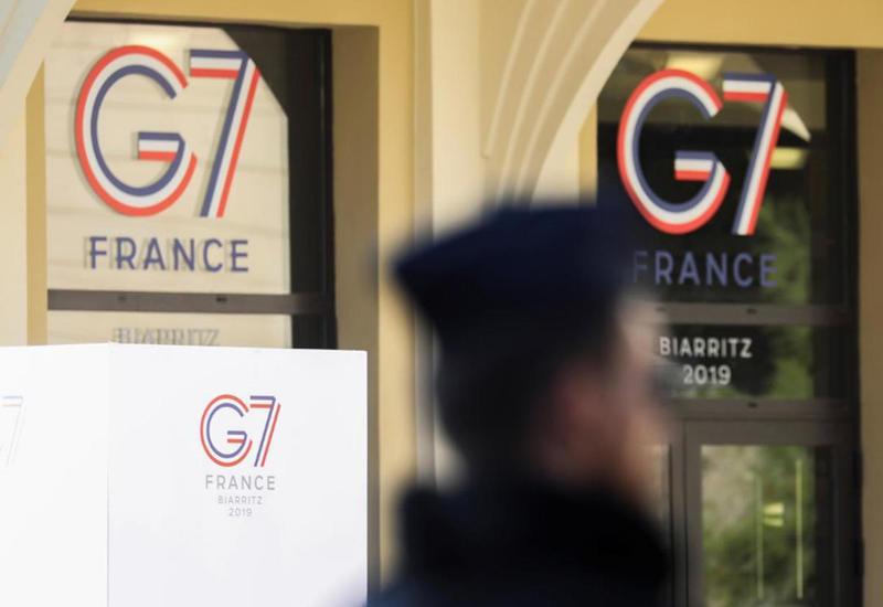 Во Франции начался саммит G7
