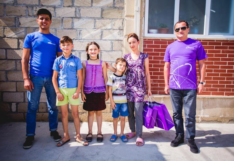 Azercell порадовал детей и вынужденных переселенцев в рамках проекта «Цифровой мир в регионах»