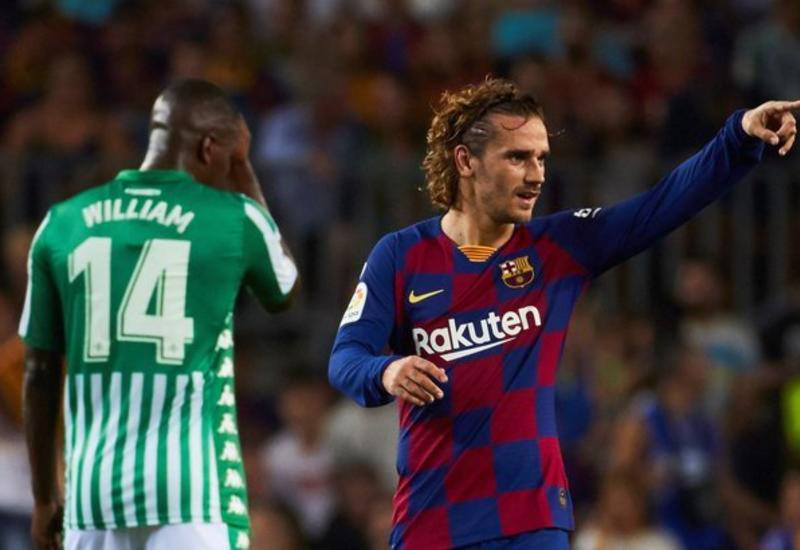 Гризманн сделал дубль, забив первые голы за «Барселону»