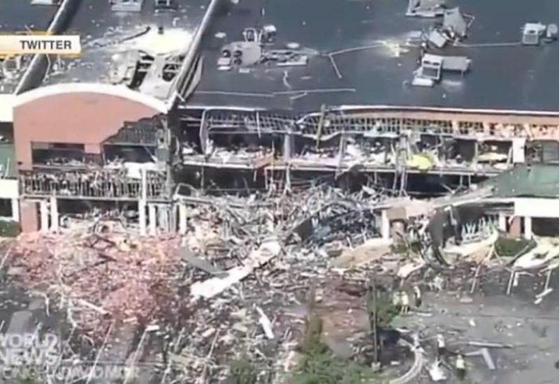 В США обрушился торговый центр