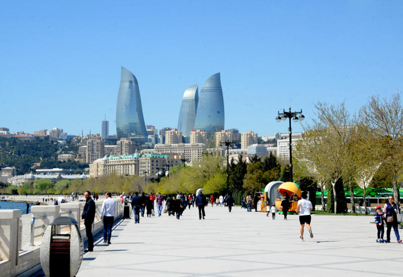 В Азербайджане будет 34-градусная жара