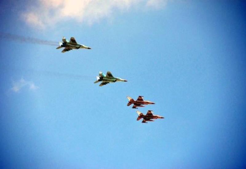 ВВС Азербайджана и Турции проведут совместные учения