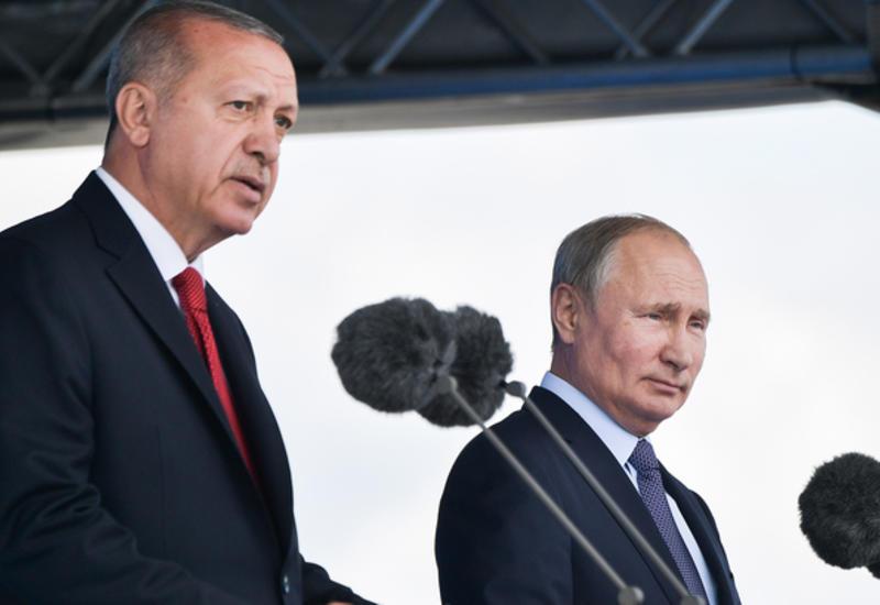 Путин и Эрдоган обсудили покупку Су-57