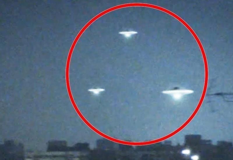 В небе над Азербайджаном замечен НЛО