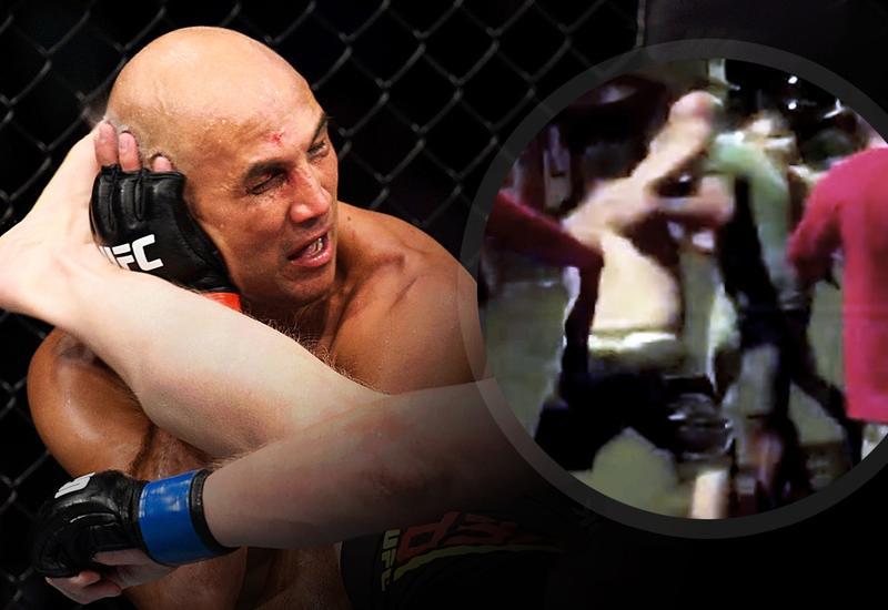 Бывшего чемпиона UFC нокаутировали на улице после драки в баре