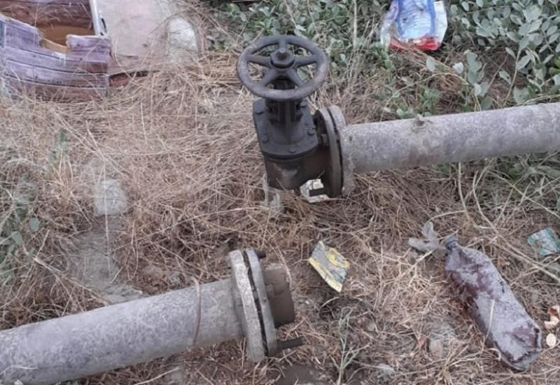 В Хачмазе из-за ДТП сотни людей остались без газа