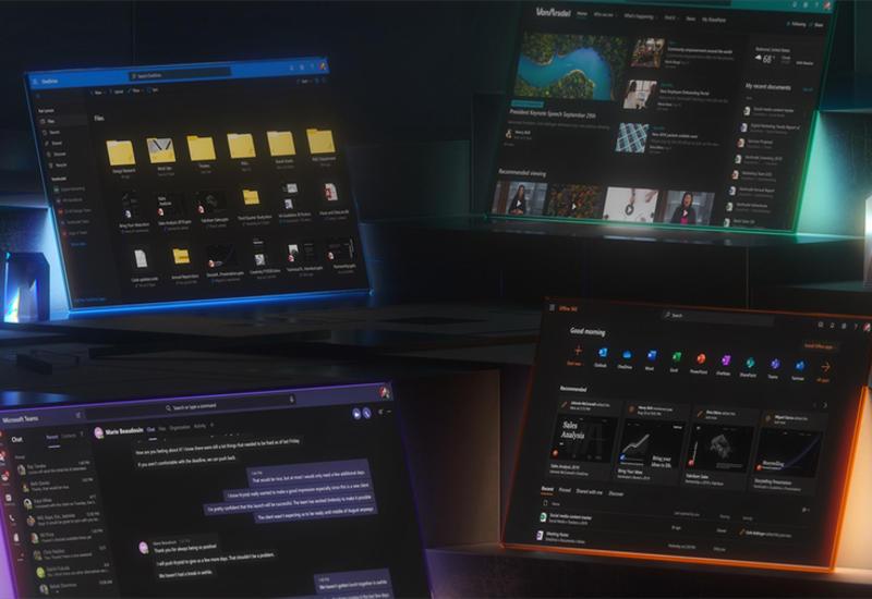 В Microsoft Office начал появляться темный режим