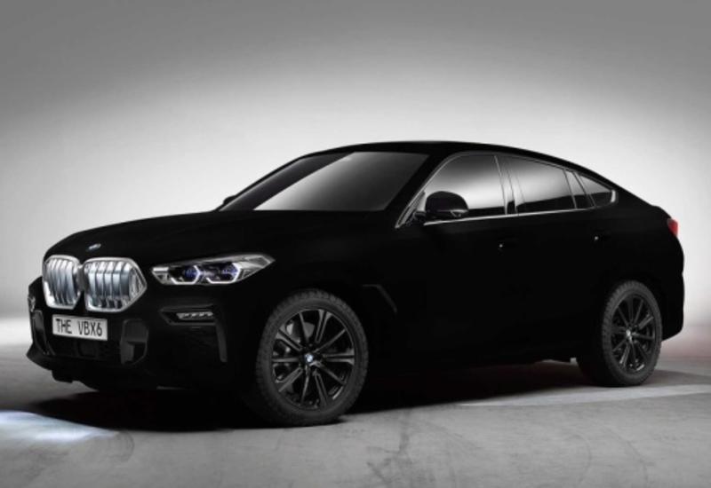 BMW показал самый черный автомобиль в мире
