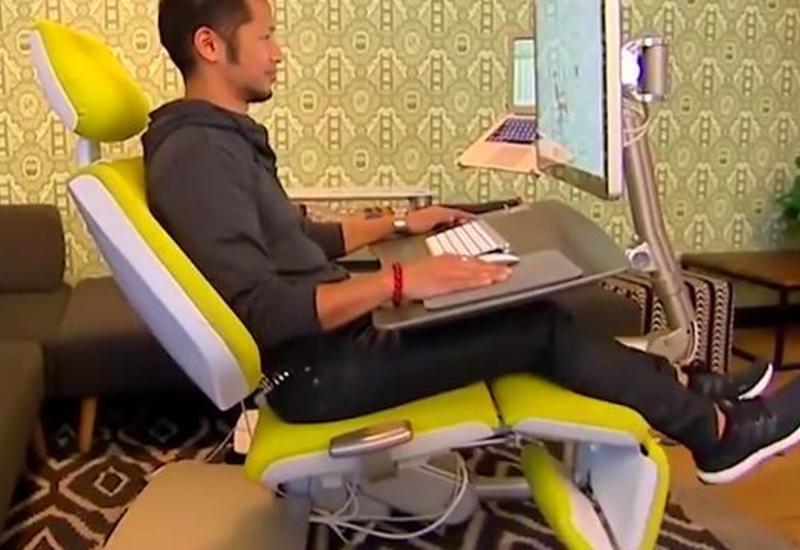 Необычное кресло для работы за компьютером