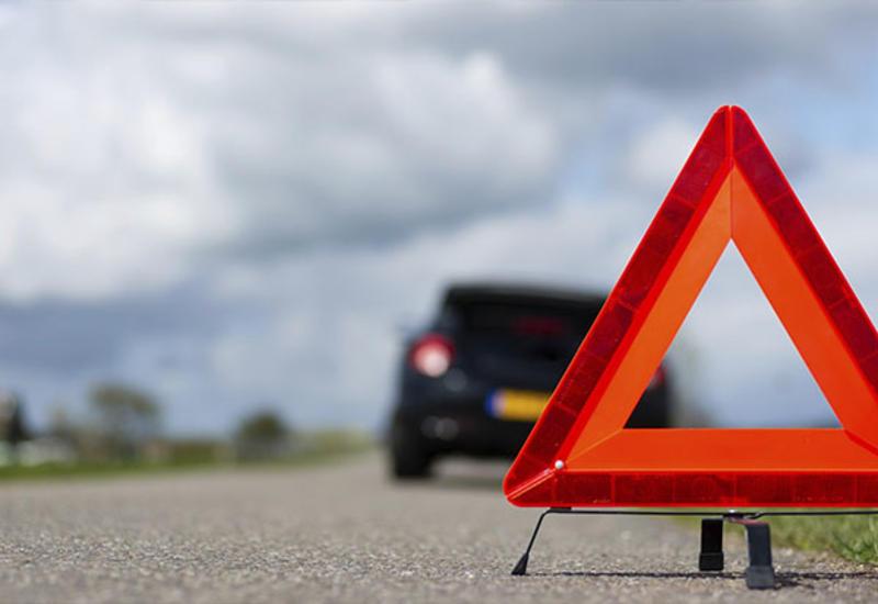 Тяжелая авария в Агстафе, есть пострадавшие