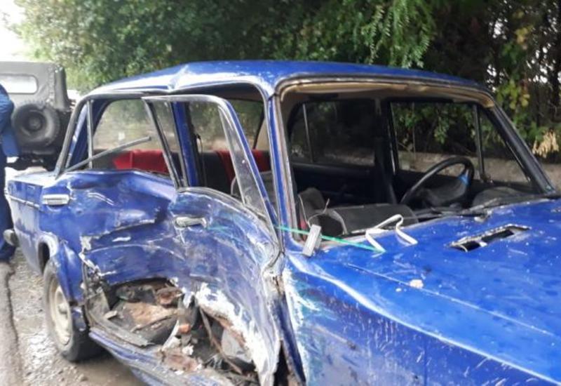 Серьезное ДТП в Товузе, есть пострадавшие
