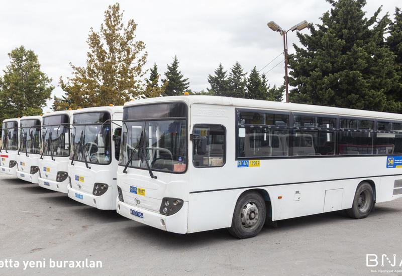 В Баку начнут курсировать новые автобусы