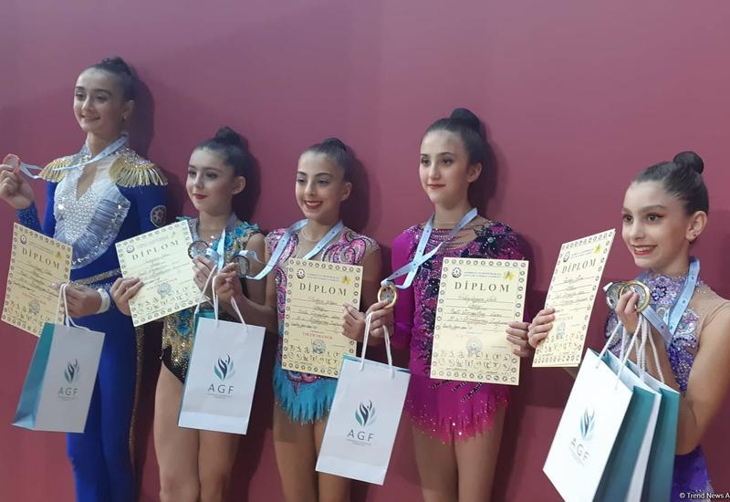 Награждены победители Чемпионата Азербайджана и Баку по художественной гимнастике в упражнениях со скакалкой и мячом