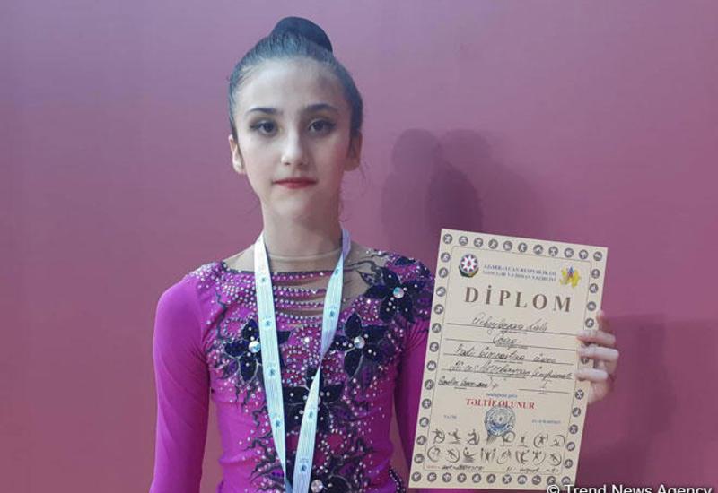 Наконец-то завоевала «золото» - юная гимнастка