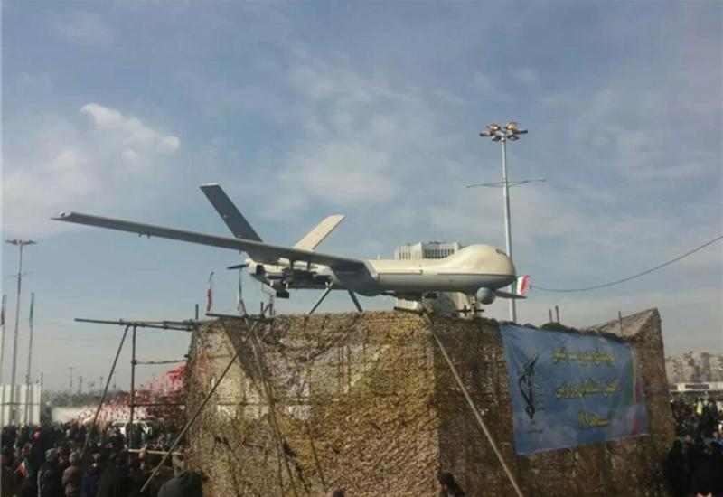 Иран представил новый беспилотник