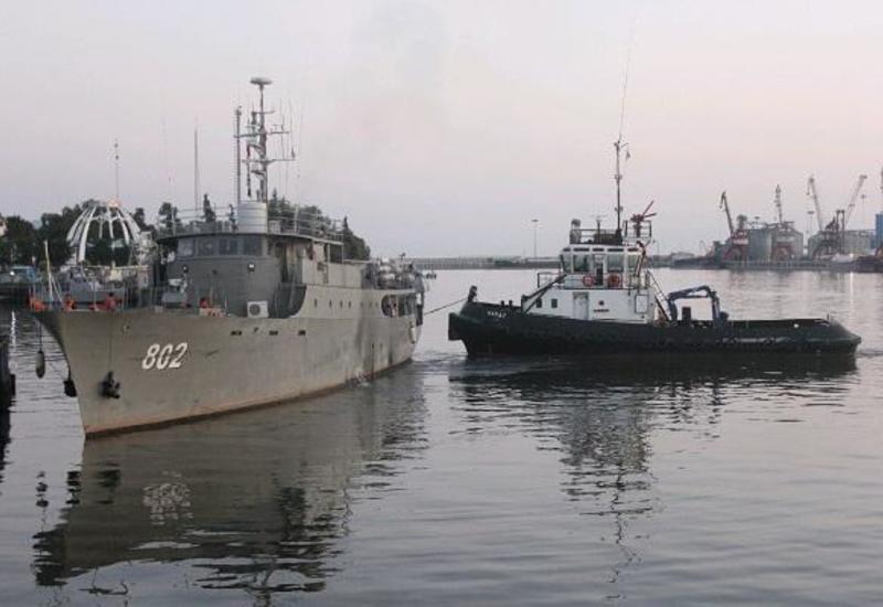 Иран проводит военные учения в Каспийском море