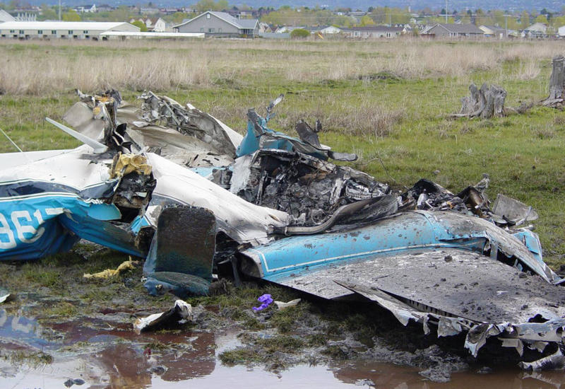 В Канаде во время авиашоу разбился самолет