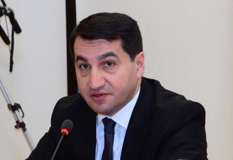 Хикмет Гаджиев: В XXI веке азербайджанский народ все еще страдает от политики оккупации со стороны Армении