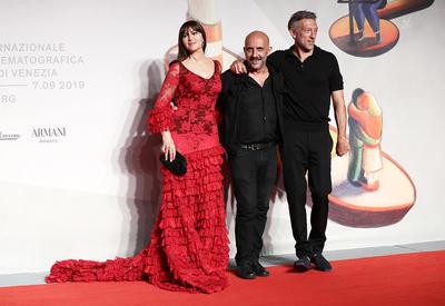 """Моника Беллуччи и Венсан Кассель на премьере обновленной «Необратимости» <span class=""""color_red"""">- ФОТО</span>"""