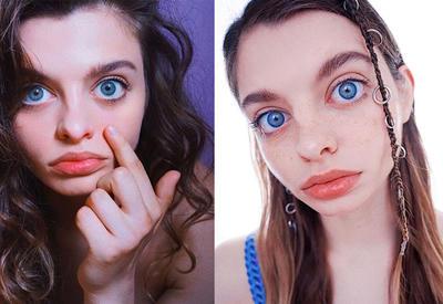 """Девушка с самыми большими глазами в мире набирает популярность в Instagram <span class=""""color_red"""">- SHARE-BAZ</span>"""