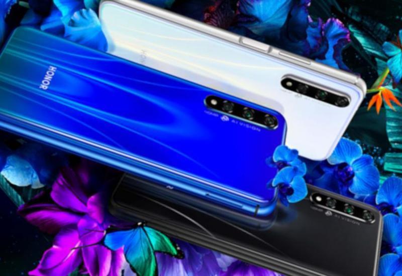 Huawei готовит к выходу Honor 20S с тройной камерой