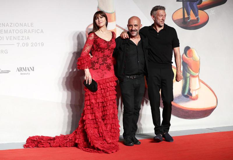 Моника Беллуччи и Венсан Кассель на премьере обновленной «Необратимости»