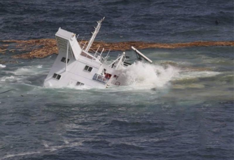 У берегов Турции утонуло грузовое судно
