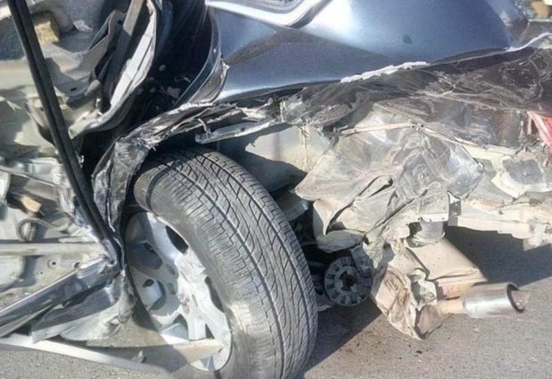 Страшная авария в Шамкире, есть погибший