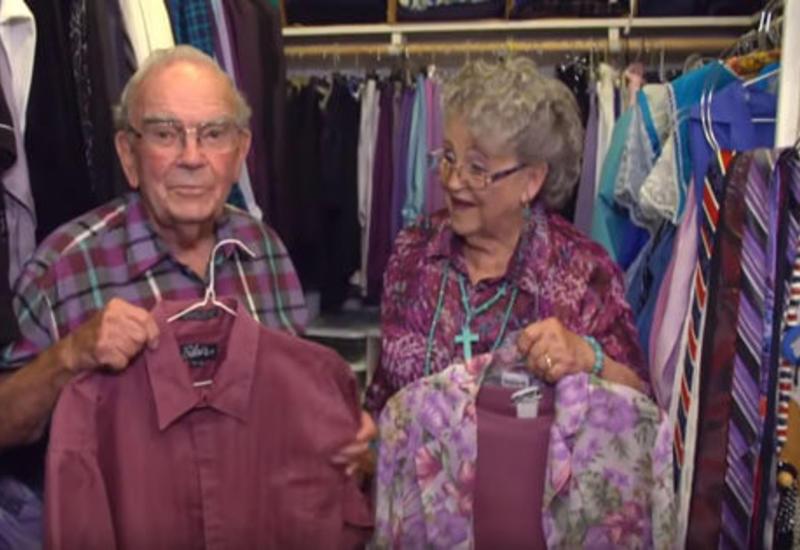 Престарелые супруги десятилетиями подбирают себе похожие наряды