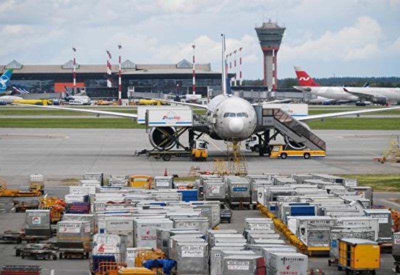 В московском аэропорту столкнулись самолеты