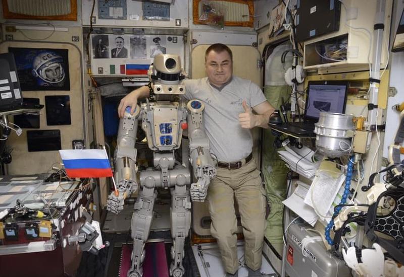 """Робот """"Федор"""" поработал с дрелью на МКС"""