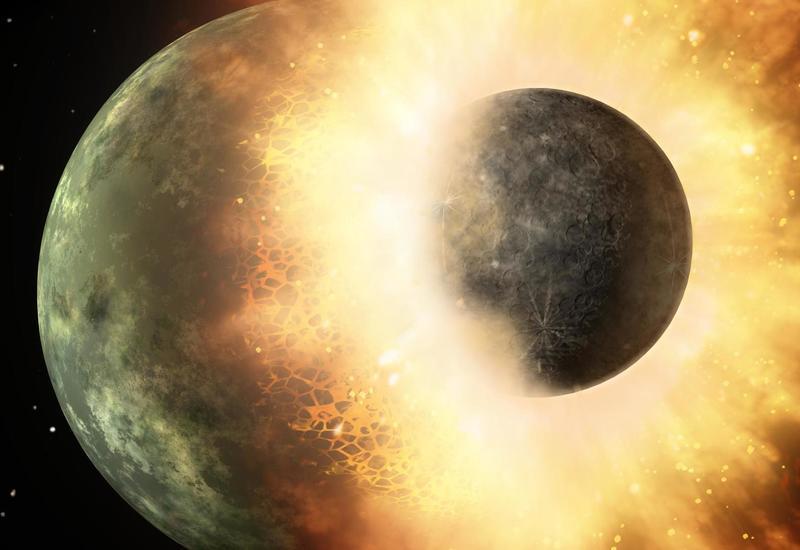 В метеорите найден невиданный в природе минерал из ядра разрушенной планеты