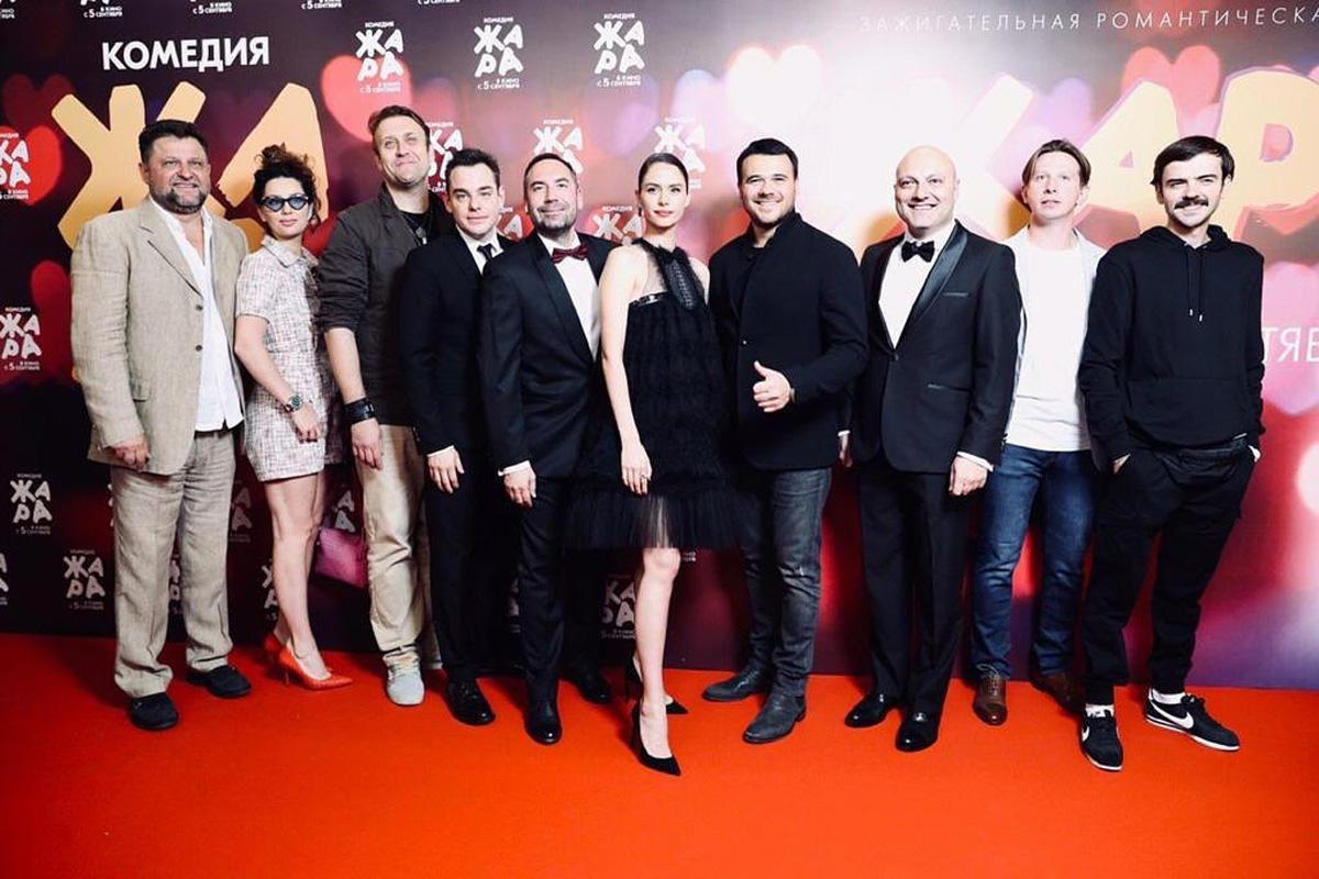 """Звезды российского шоу-бизнеса на премьере фильма """"Жара"""""""