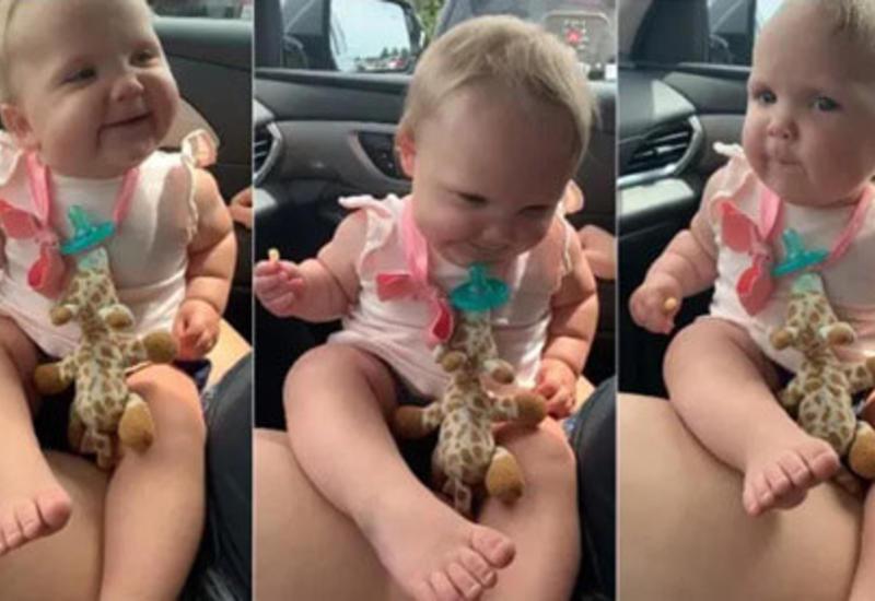 Танцующая малышка умилила пользователей социальных сетей