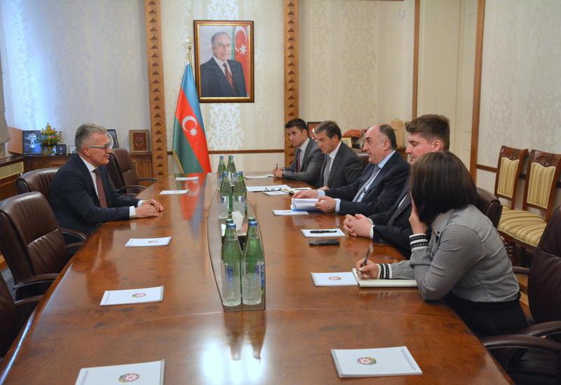 Эльмар Мамедъяров принял новоназначенного посла Хорватии в Азербайджане