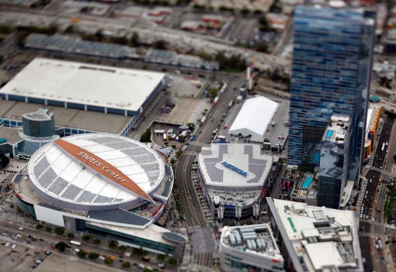Лос-Анджелес: Город Ангелов с высоты птичьего полета