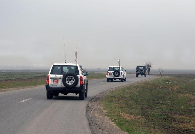 ОБСЕ провела мониторинг на госгранице Азербайджана и Армении