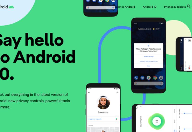 Google выпустил стабильную версию операционной системы Android 10