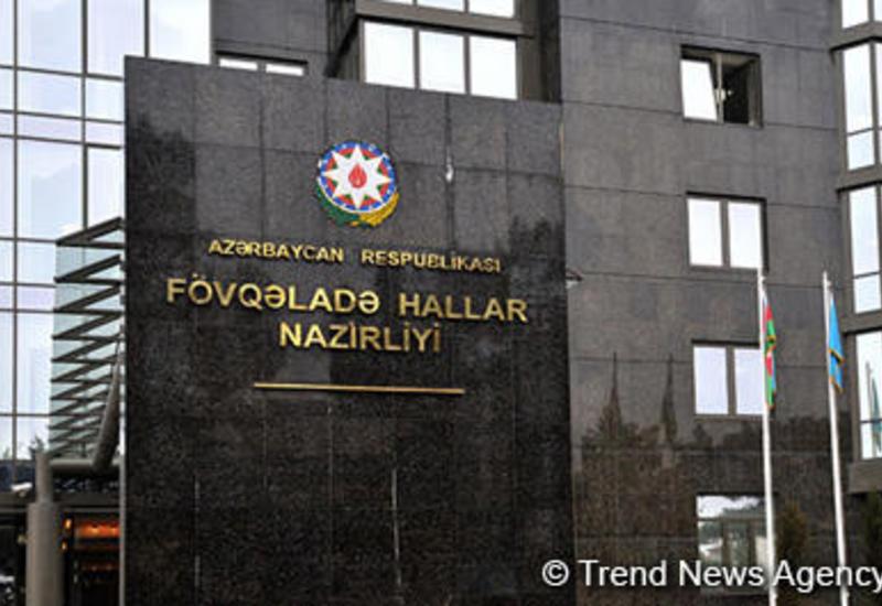МЧС раскрыло подробности крупного пожара в центре Баку