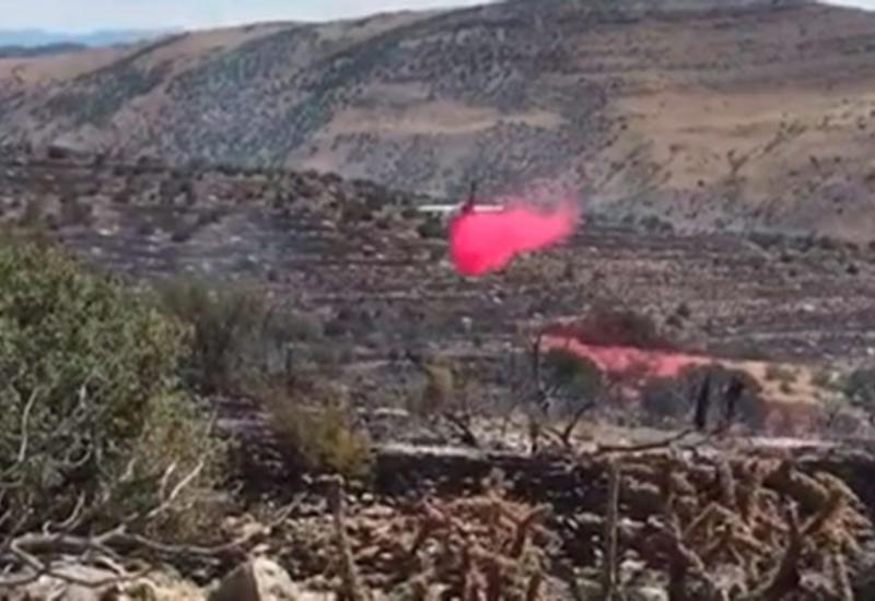 Тушивший пожары самолет едва не врезался в гору