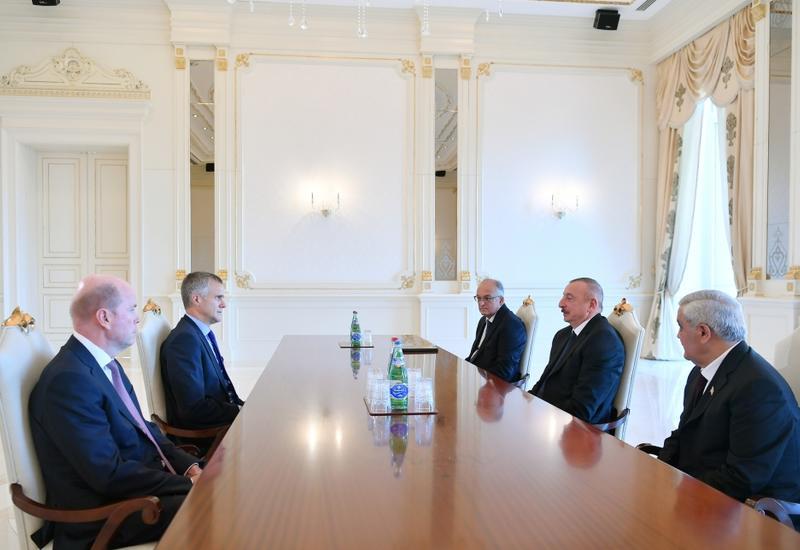 Президент Ильхам Алиев принял председателя Совета директоров BP
