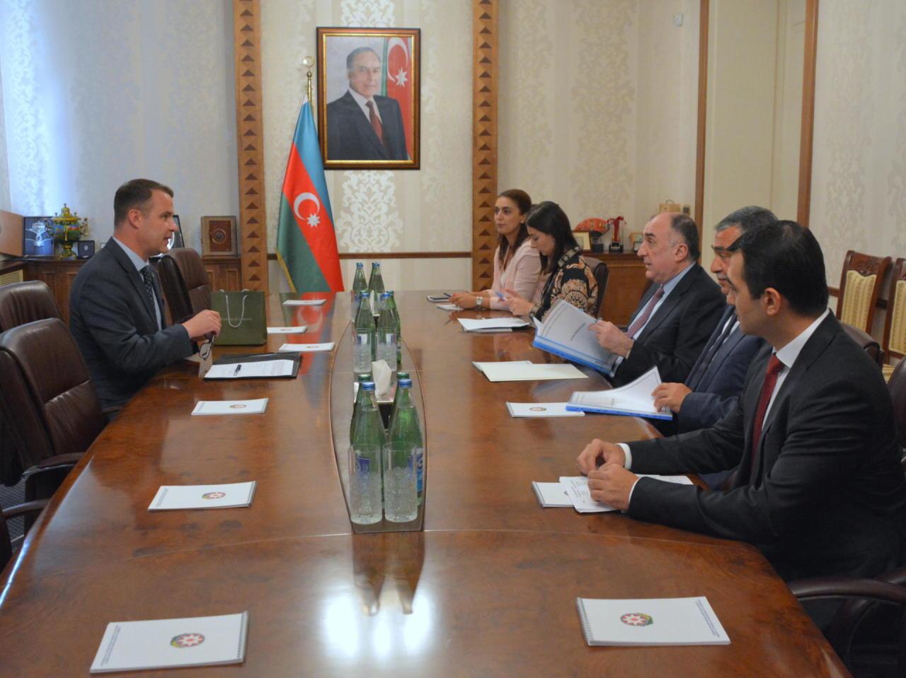 Эльмар Мамедъяров принял нового посла Литвы в Азербайджане