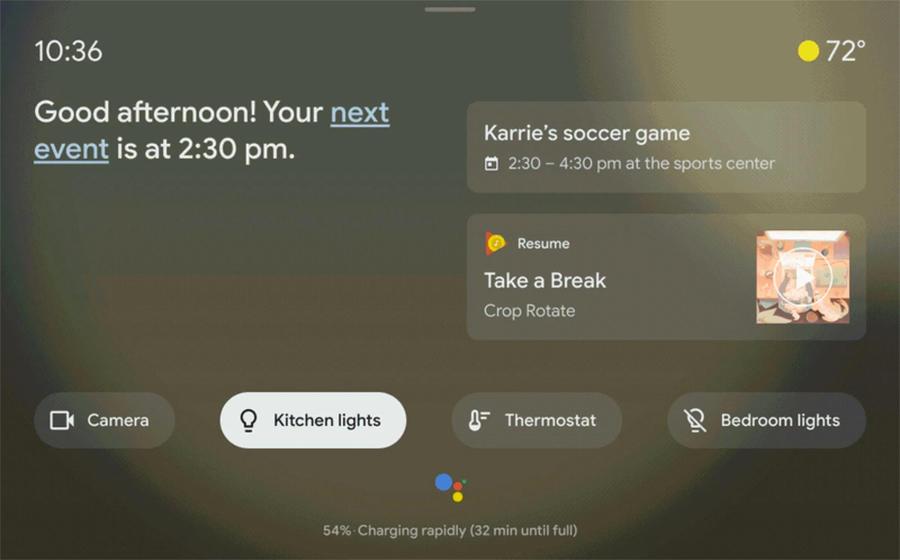 Google добавит Android-устройствам функции смарт-дисплея